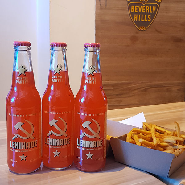 California Burgers - Leninade Lemonade