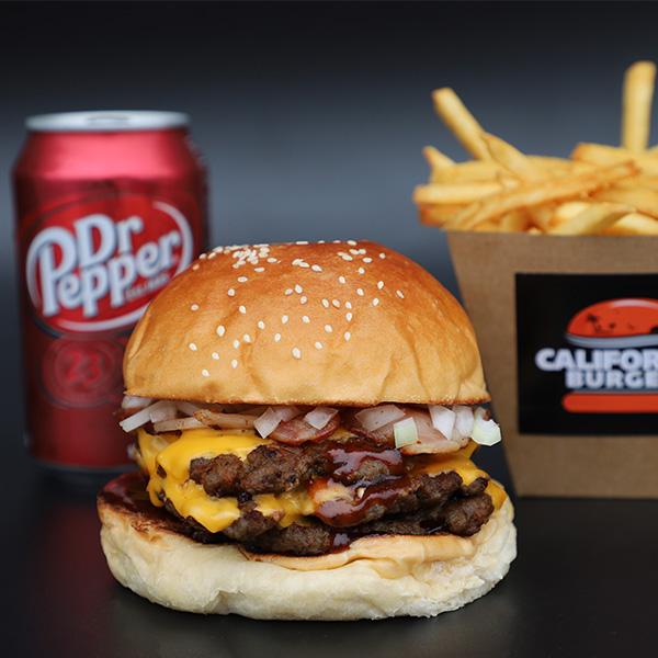 The Steven Seagal Burger by Steven Seagal available at California Burger
