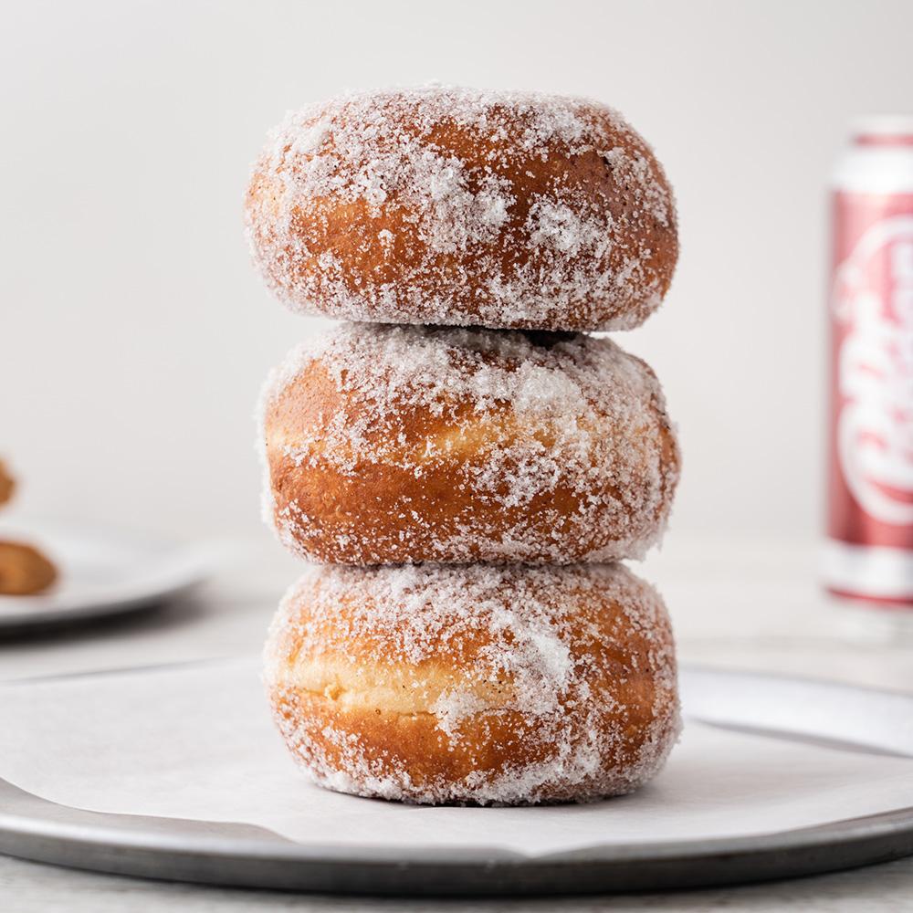California Burgers - Hot Jam Donuts